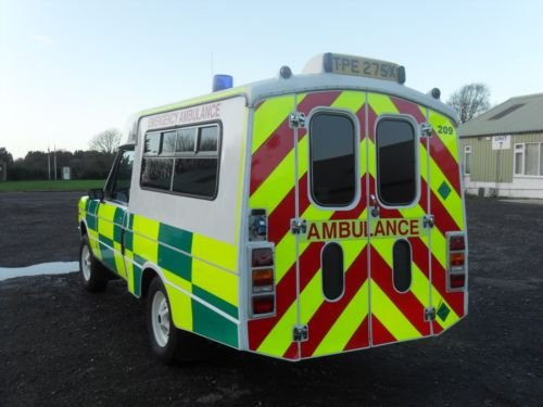 1982 Range Rover Ex MOD Ambulance  For Sale (picture 2 of 5)