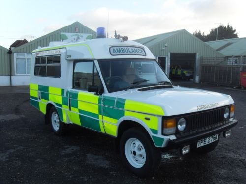1982 Range Rover Ex MOD Ambulance  For Sale (picture 3 of 5)