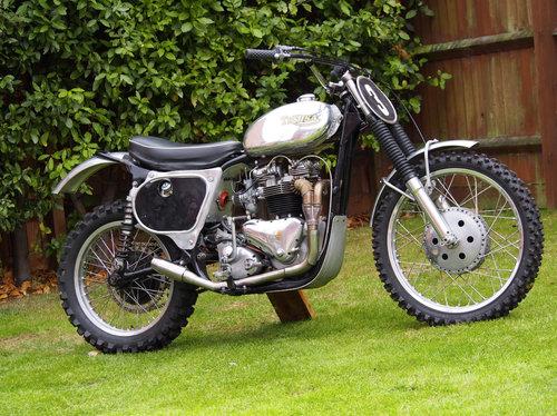 Triumph BSA Classic Motocross Bike - TriBSA 750cc SOLD | Car And Classic