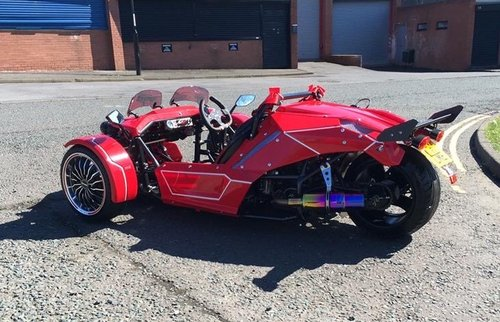 Tri-Co Scorp 3 wheeler trike 2017 UK registered For Sale (picture 1 of 2)