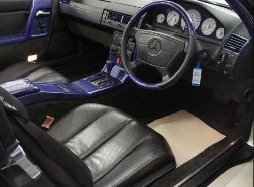 1991 ULTRA RARE KOENIG RHD 500SL R129 SOLD (picture 4 of 6)