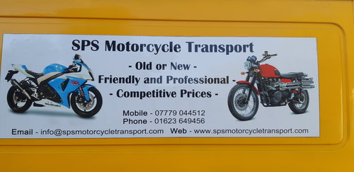 SPS Motorcycle Transport  (picture 1 of 2)