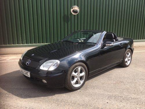 2001 Mercedes-Benz SLK 320 V6 For Sale (picture 1 of 6)