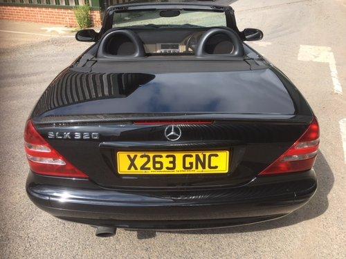 2001 Mercedes-Benz SLK 320 V6 For Sale (picture 2 of 6)