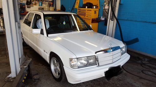 1988 Mercedes Benz 190e For Sale (picture 1 of 6)