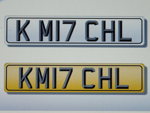 KM17 CHL Registration for K.Mitchell For Sale (picture 1 of 1)