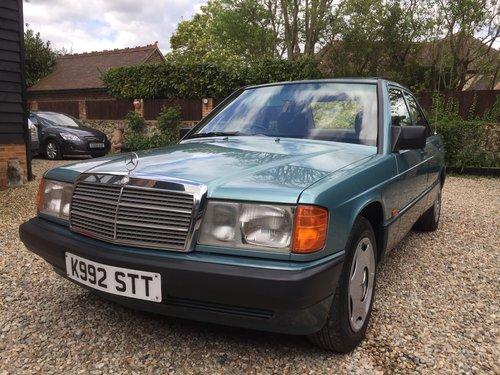 1992 Mercedes 190E 1.8 Auto For Sale (picture 1 of 6)