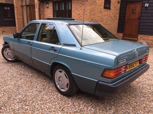 1992 Mercedes 190E 1.8 Auto For Sale (picture 2 of 6)