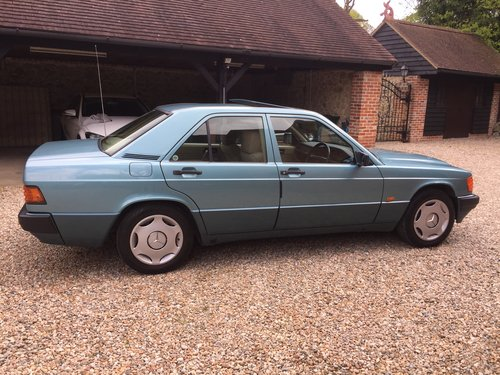 1992 Mercedes 190E 1.8 Auto For Sale (picture 3 of 6)