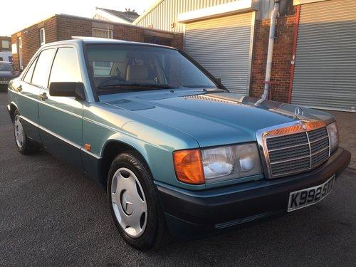 1992 Mercedes 190E 1.8 Auto For Sale (picture 6 of 6)