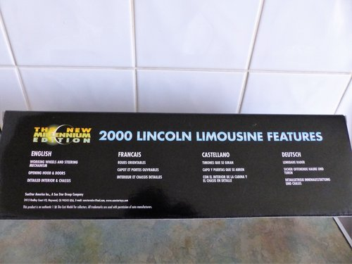 SUN STAR 1:18 SCALE LINCOLN LIMOUSINE MINT BOXED For Sale (picture 4 of 6)