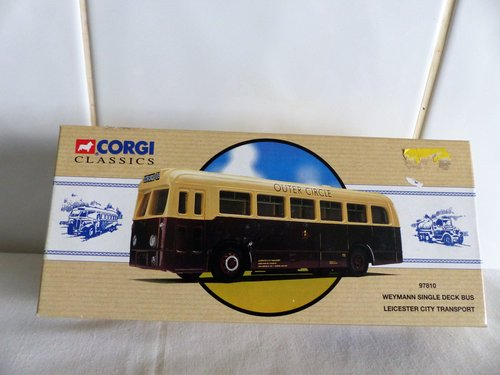 WEYMANN BUS-LEICESTER CITY TRANSPORT-1:50 For Sale (picture 1 of 6)