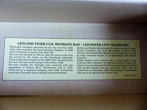 WEYMANN BUS-LEICESTER CITY TRANSPORT-1:50 For Sale (picture 4 of 6)
