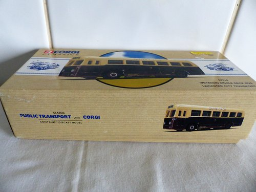 WEYMANN BUS-LEICESTER CITY TRANSPORT-1:50 For Sale (picture 6 of 6)