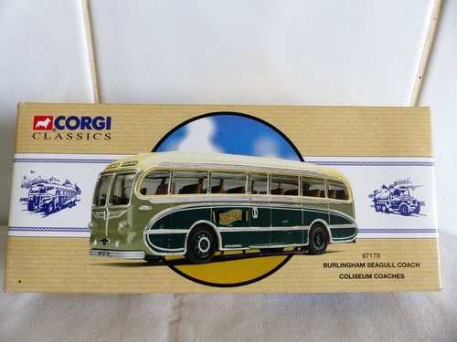 BURLINGHAM SEAGULL-COLISEUM COACHES 1:50 SCALE For Sale (picture 1 of 6)