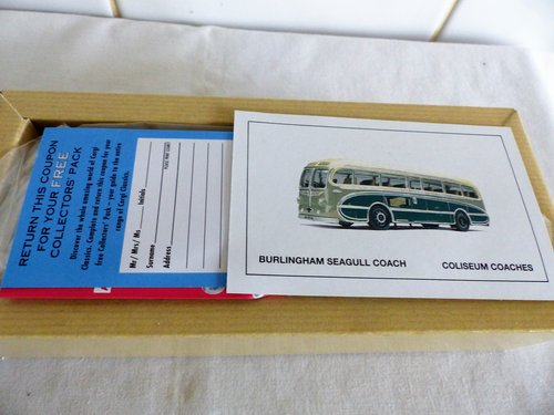 BURLINGHAM SEAGULL-COLISEUM COACHES 1:50 SCALE For Sale (picture 2 of 6)
