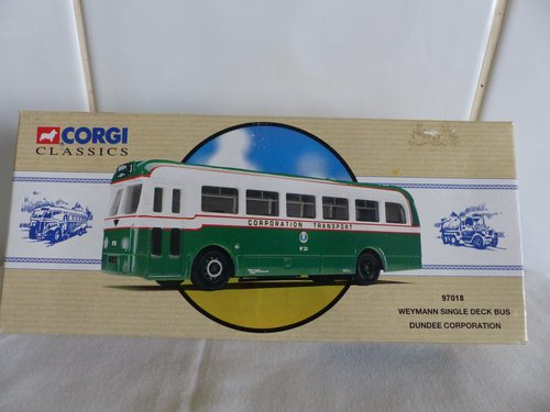WEYMANN SINGLE DECK BUS-DUNDEE CORPORATION For Sale (picture 1 of 6)
