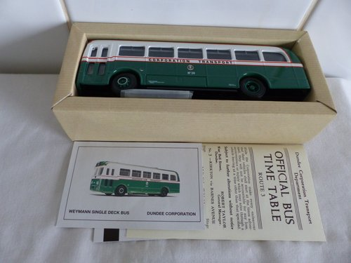 WEYMANN SINGLE DECK BUS-DUNDEE CORPORATION For Sale (picture 4 of 6)