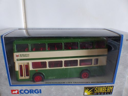 METROBUS-NOTTINGHAM CITY TRANSPORT-1:76 SCALE For Sale (picture 1 of 5)