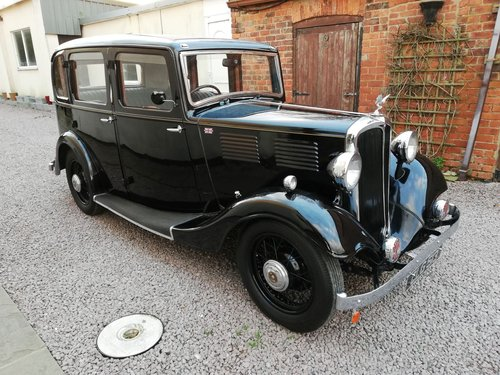 lovely 1935 Standard Big 12 De Luxe Saloon SOLD (picture 1 of 6)