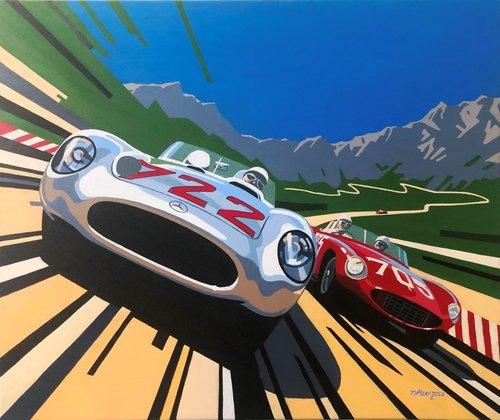Tim Layzell - Moss Mille Miglia SOLD (picture 1 of 1)