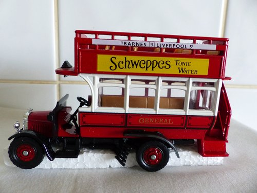 THORNEYCROFT BUS-SCHWEPPES TONIC WATER For Sale (picture 3 of 6)
