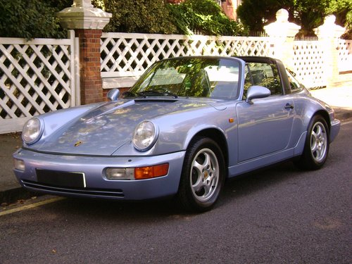 1992 PORSCHE 911 964 Carrera 4 Targa Manual For Sale (picture 1 of 6)