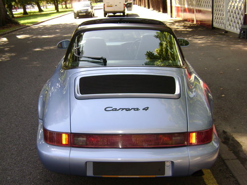 1992 PORSCHE 911 964 Carrera 4 Targa Manual For Sale (picture 3 of 6)