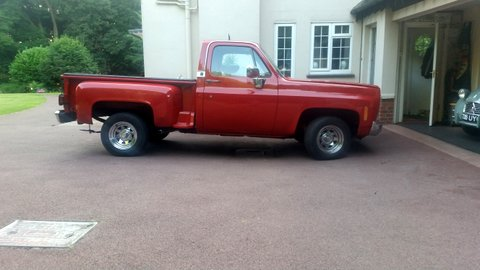 1982 Chevy Stepside Truck
