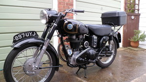 1954 Classic AJS motorcycle