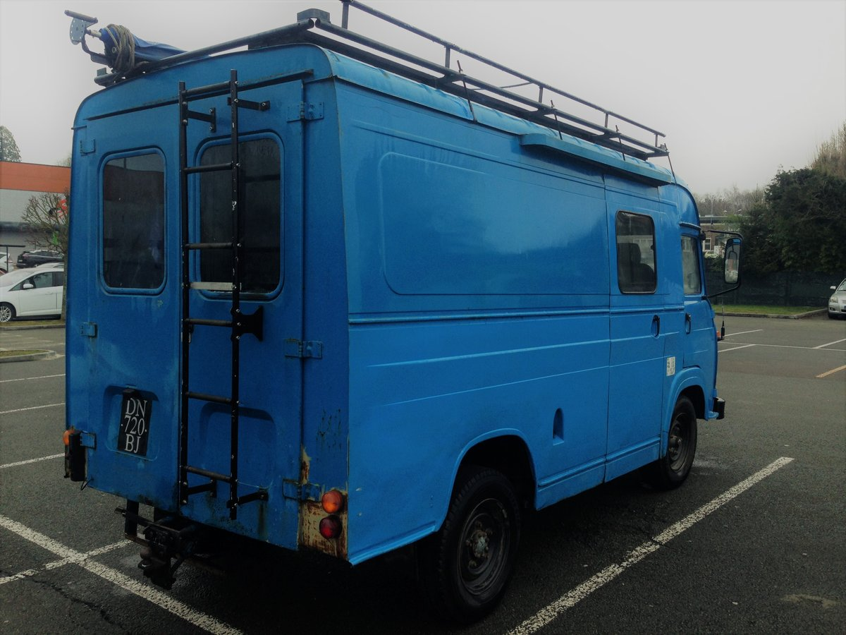 1970 Vintage Saviem sg2 - perfect food truck or camper For Sale (picture 2 of 6)