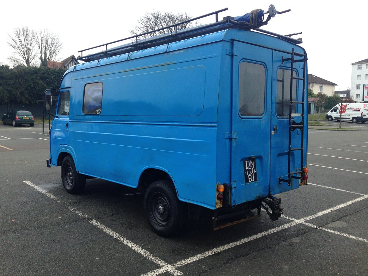 1970 Vintage Saviem sg2 - perfect food truck or camper For Sale (picture 3 of 6)