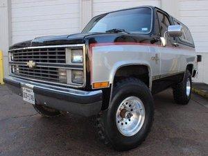 1984 Chevrolet K5 Blazer For Sale