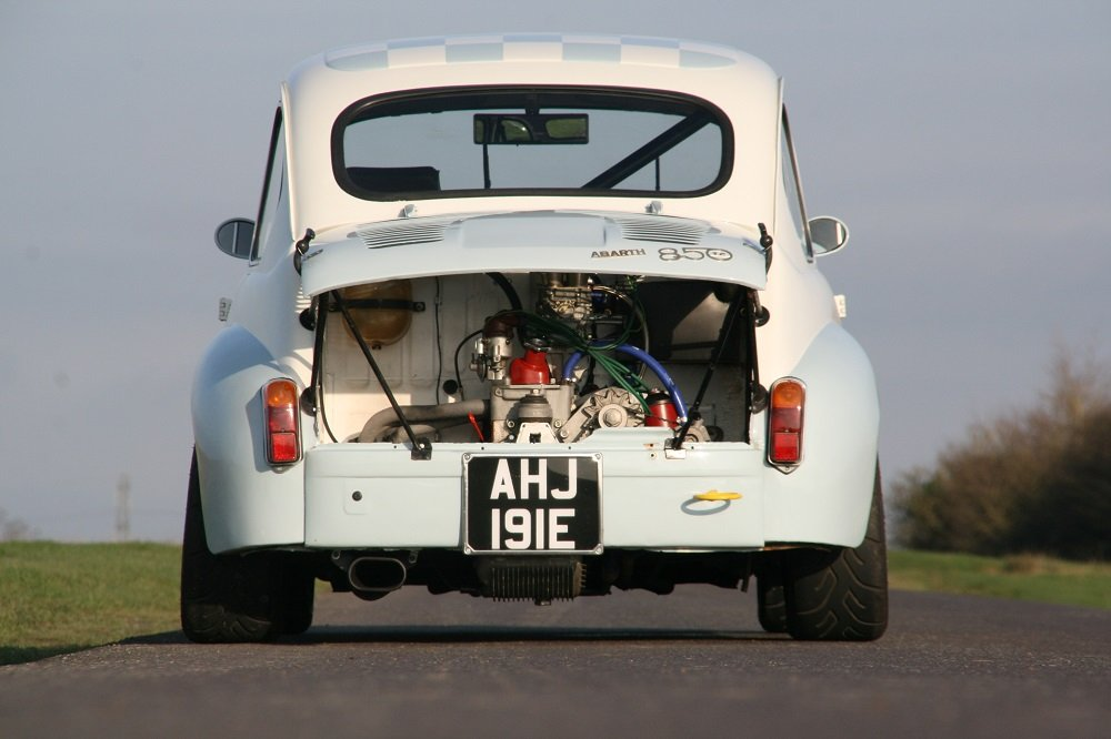 1963 ABARTH 850TC (AB214) **FIA HTP & FIVA Papers** For Sale (picture 2 of 6)