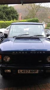 1993 Range Rover Classic LSE 12 months mot