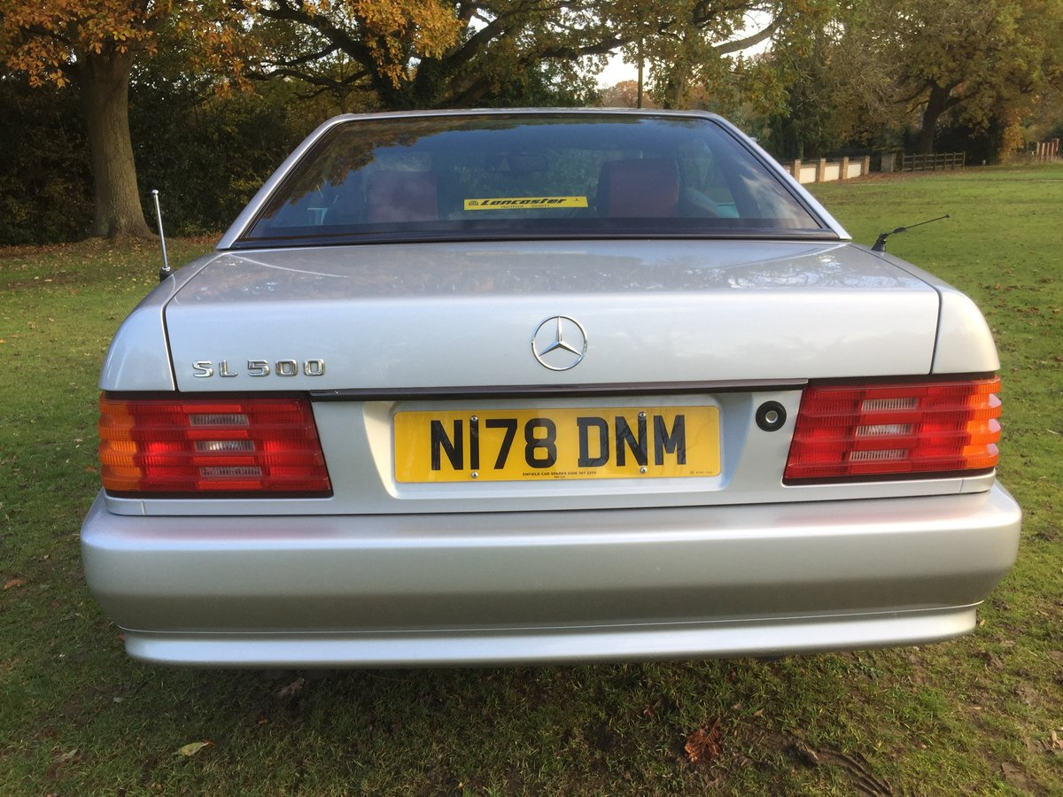 1995 Mercedes-Benz SL500 Mille Miglia Mercedes R129 For Sale (picture 4 of 6)