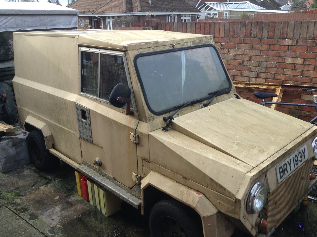 1983 MDV Aluminium Min Van For Sale (picture 1 of 6)