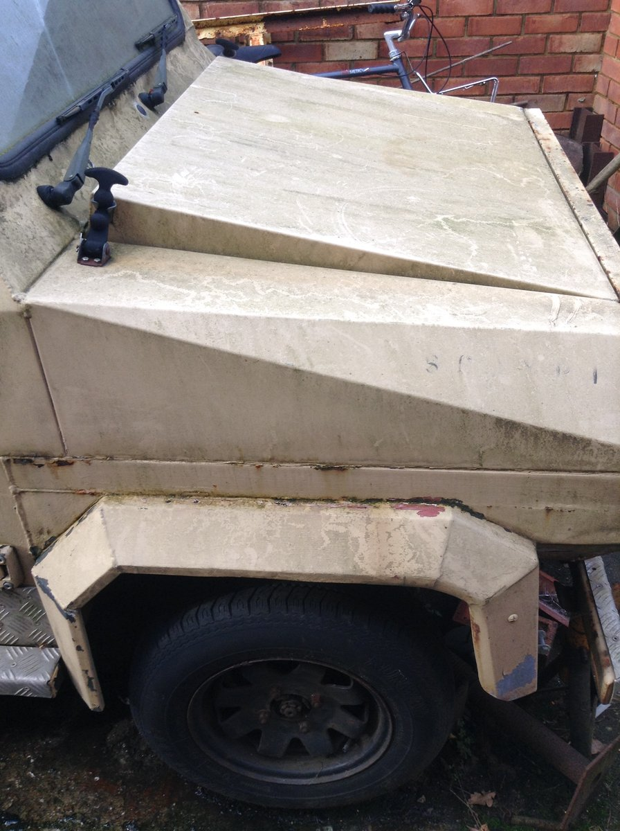 1983 MDV Aluminium Min Van For Sale (picture 3 of 6)