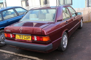 1993 Mercedes 190e 2.0 Low mileage Young Timer Project For Sale
