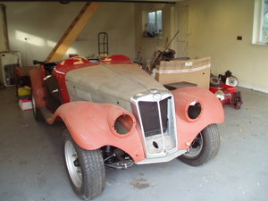 1954 Disposal of MG TF and spares