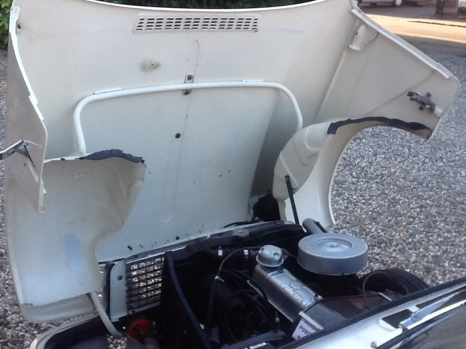 1965 Triumph Herald 1200 convertible rust free For Sale (picture 4 of 6)