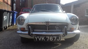mgbgt 1970 low miles for year. For Sale