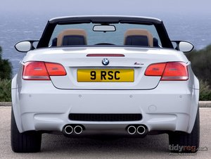 9 RSC Cherished Number Plate For Sale