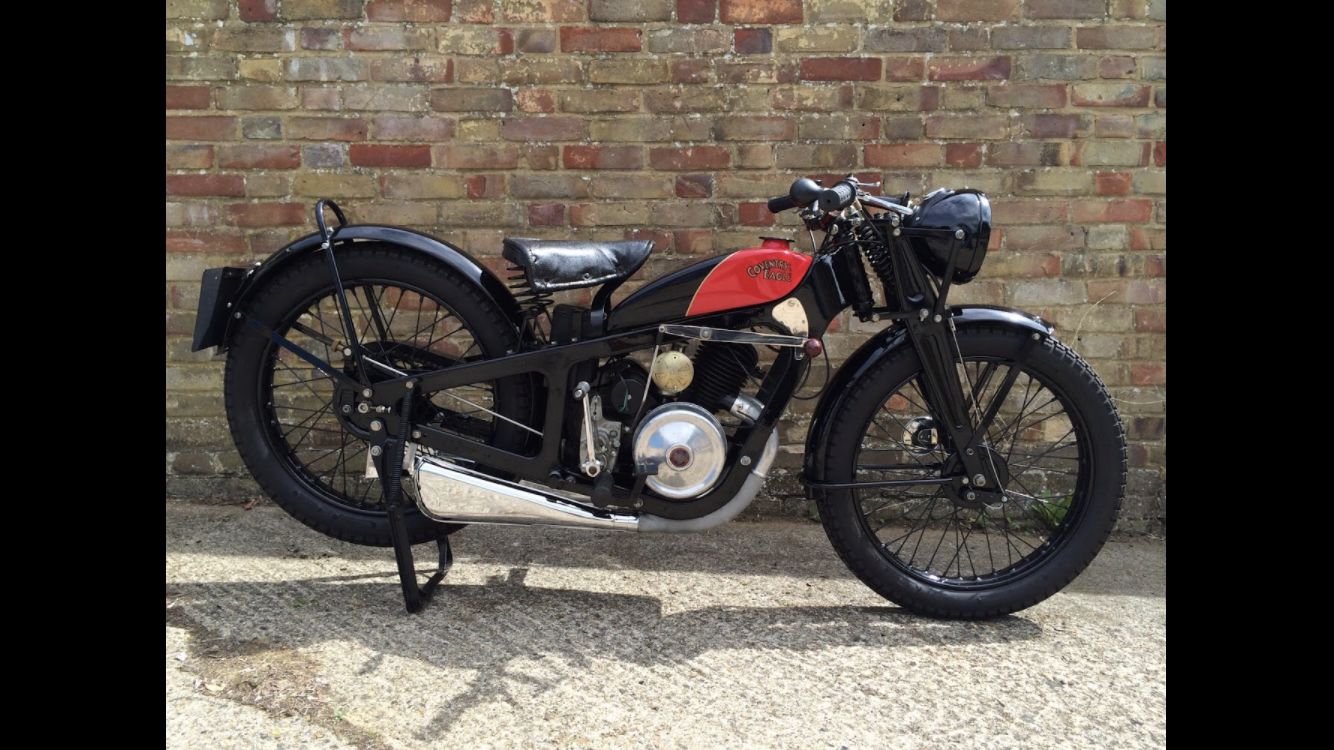 1936 Coventry Eagle silent superb great condition For Sale (picture 1 of 6)