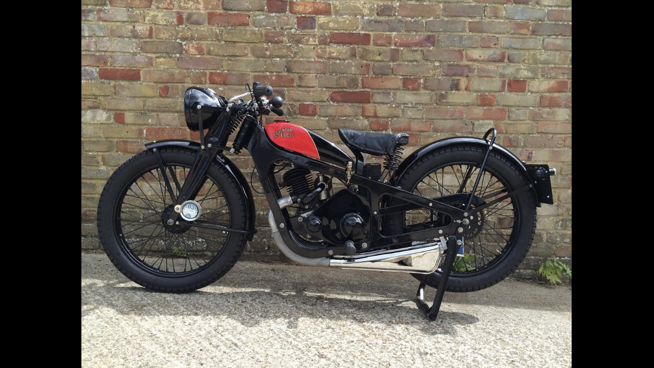 1936 Coventry Eagle silent superb great condition For Sale (picture 2 of 6)