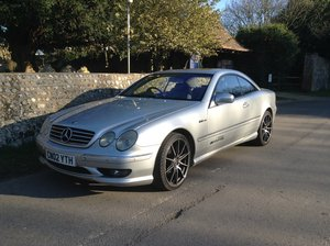 2002 Mercedes cl500 For Sale