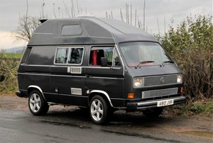 1983 VW T25 / T3 Custom Camper. 1.9 Petrol WasserBoxer For Sale by Auction