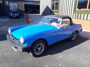 1980 Solid MG Midget 1500, drive away summer fun