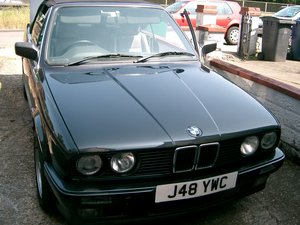 1992 LOVELY BMW E30 CONVERTIBLE