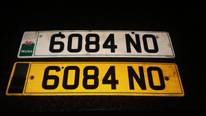 6084 NO.  CHERISHED N/PLATE FOR SALE. For Sale